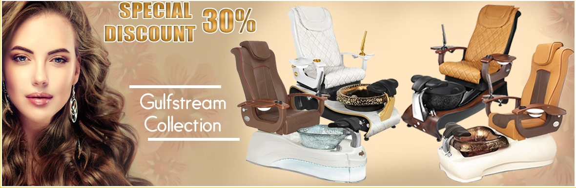 ebuynails.com pedicure spa chair nail manicure salon furniture banner gulfstream collection sale off