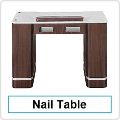 nail manicure table