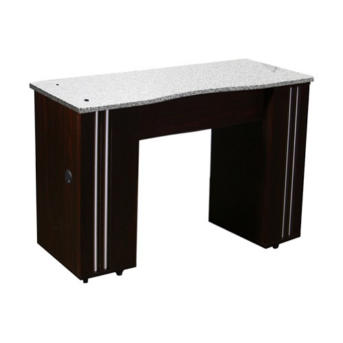 Adelle Manicure Table Dark Cherry B