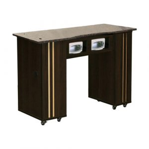 Adelle UV Manicure Table Chocolate B
