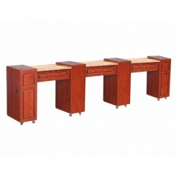 Canterbury Manicure Table Classic Cherry D 000