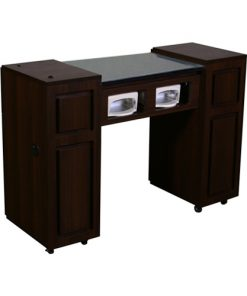 Canterbury UV Manicure Table Chocolate A