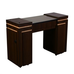 Carina Manicure Table Chocolate A