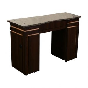 Carina Manicure Table Chocolate B