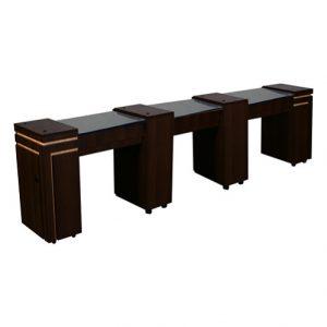 Carina Triple Manicure Table