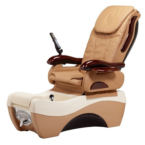 Chocolate Spa Pedicure Chair Package Free Shipping