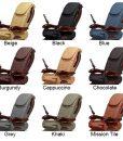 Chocolate SE Pedicure Spa Chair 707