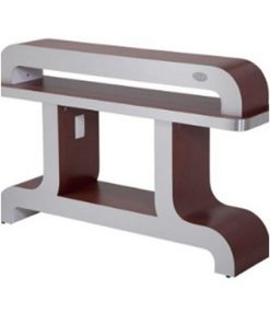 Custom Made Nail Dryer Station UV9 (Burgundy/Aluminum)
