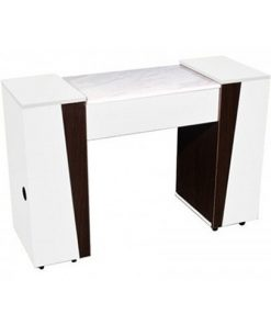 Deville Manicure Table Cream Wood