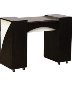 Edita Manicure Table Dark Cherry A