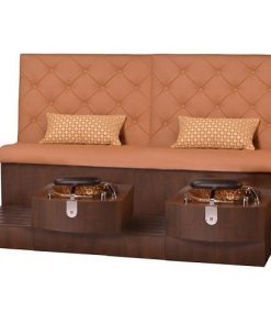 Kimberly Double Spa Pedicure Bench