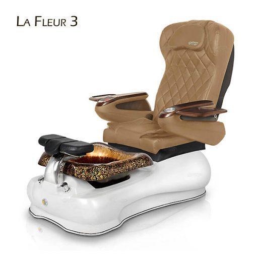 La Fleur 3 Pedicure Chair