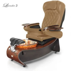 Lavender 3 Spa Pedicure Chair