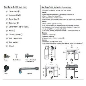Nail Table T105 Package