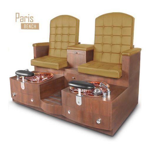 Paris Double Spa Pedicure Bench