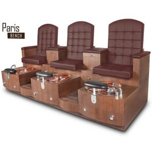 Paris Triple Spa Pedicure Bench