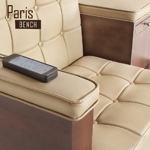 Paris Triple Spa Pedicure Bench
