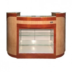 Reception Desk C209 (MapleOak) 1