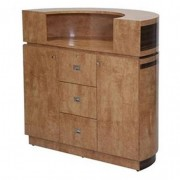 Reception Desk C48 Cherry Chesnut 111