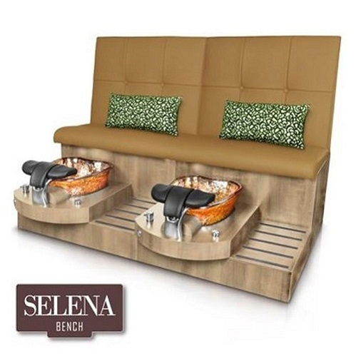 Selena Double Spa Pedicure Bench