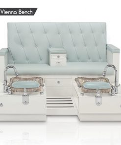 Vienna Double Spa Pedicure Bench
