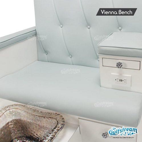 Vienna Spa Pedicure Bench