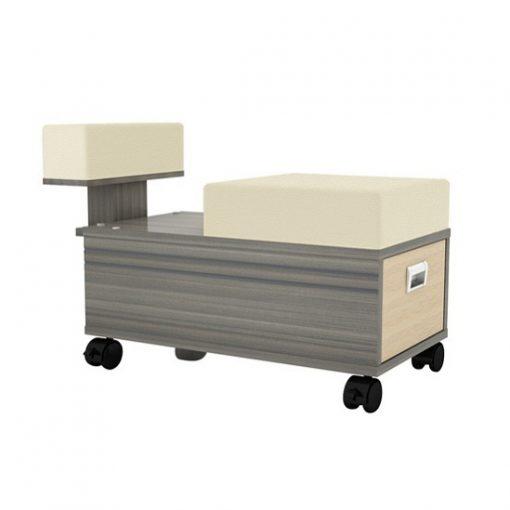 Alera Pedicure Cart With Footrest