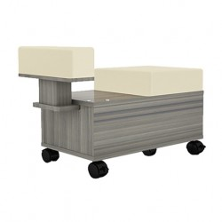 Alera Pedicure Cart With Footrest- 222.