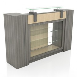 Alera Reception Table Display 000