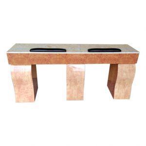 Bristol Double Nail Table