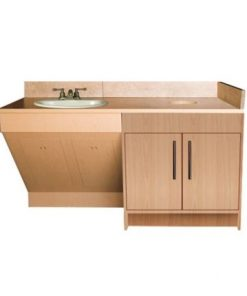 Contemporary Single Sink Cabinet