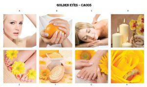Golden Eyes Canvas Mural