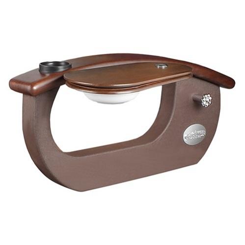 Gs9025 01 9620 1 Armrest Dark Cherry Wood Arm Brown