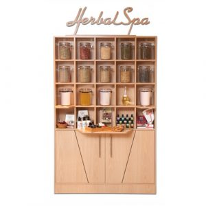 Herbal Display Cabinet