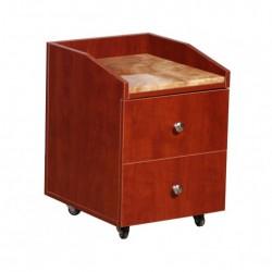 Nina Pedicure Cart Marble 333