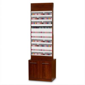 Paris Nail Polish Rack With Cabine