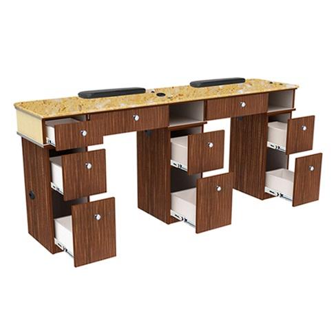Verona II Nail Table Double