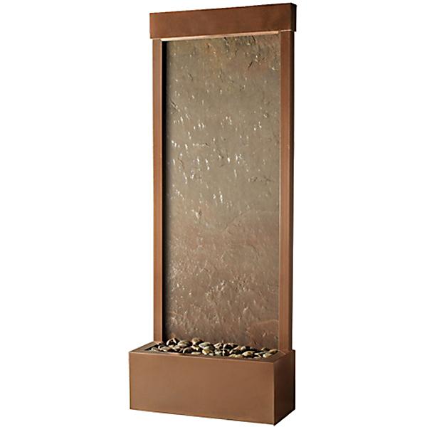 4′ Coppervein Gardenfall Slate Panel