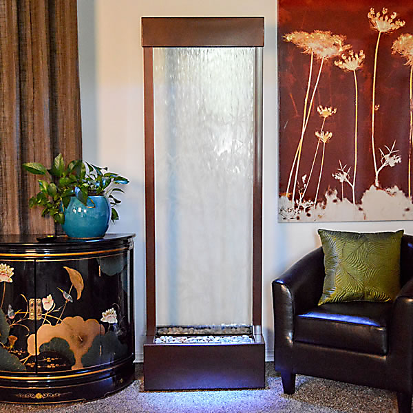 6′ Dark Copper Bamboo Gardenfall