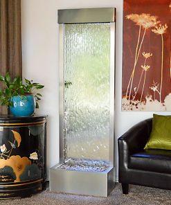 6′ Stainless Gardenfall Sillver Mirror