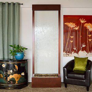8′ Dark Copper Bamboo Gardenfall