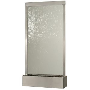 8′ Stainless Grande Clear Glass