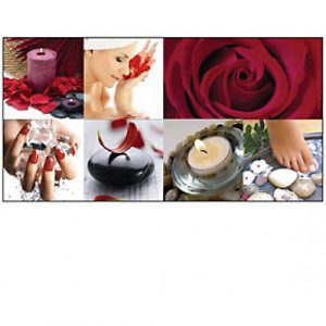 Canvas Wall Mural Sets Rose Petal Ensemble