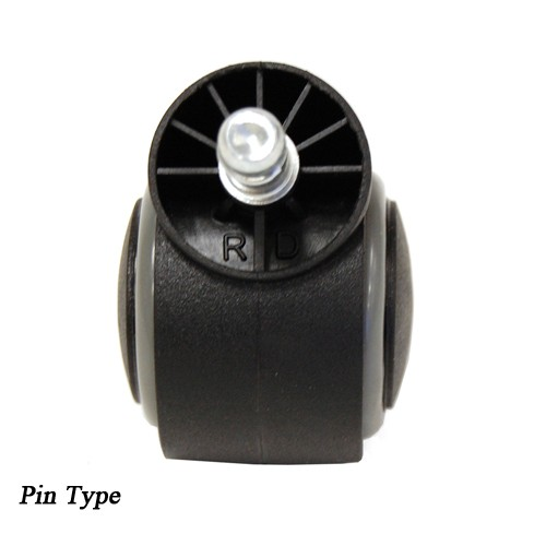 Caster Wheel Euro Stool Pin Type