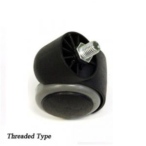 Caster Wheel Euro Stool Threaded