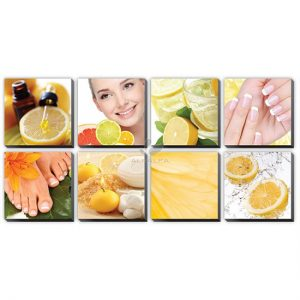 Citrus Canvas Murals