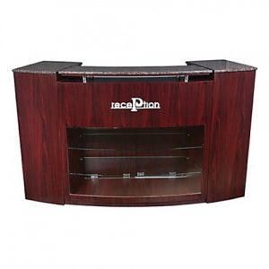 Curved Reception Desk 72″