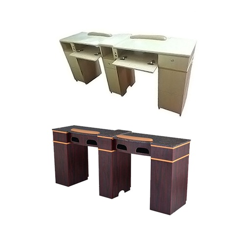 Double Nail Table 70''
