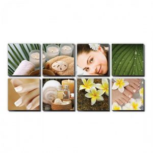 Tropical Plumeria Canvas Murals