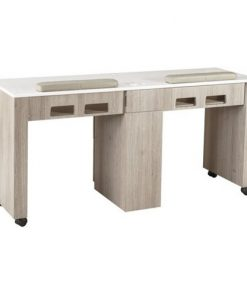 XO Double Nail Table 63″